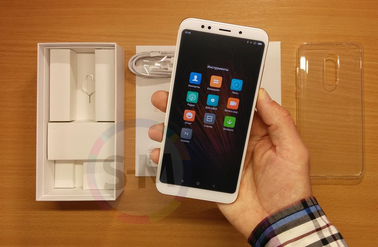 Xiaomi Redmi 5 Plus 3 32gb Black 4119 Mi 32 Gb Silver